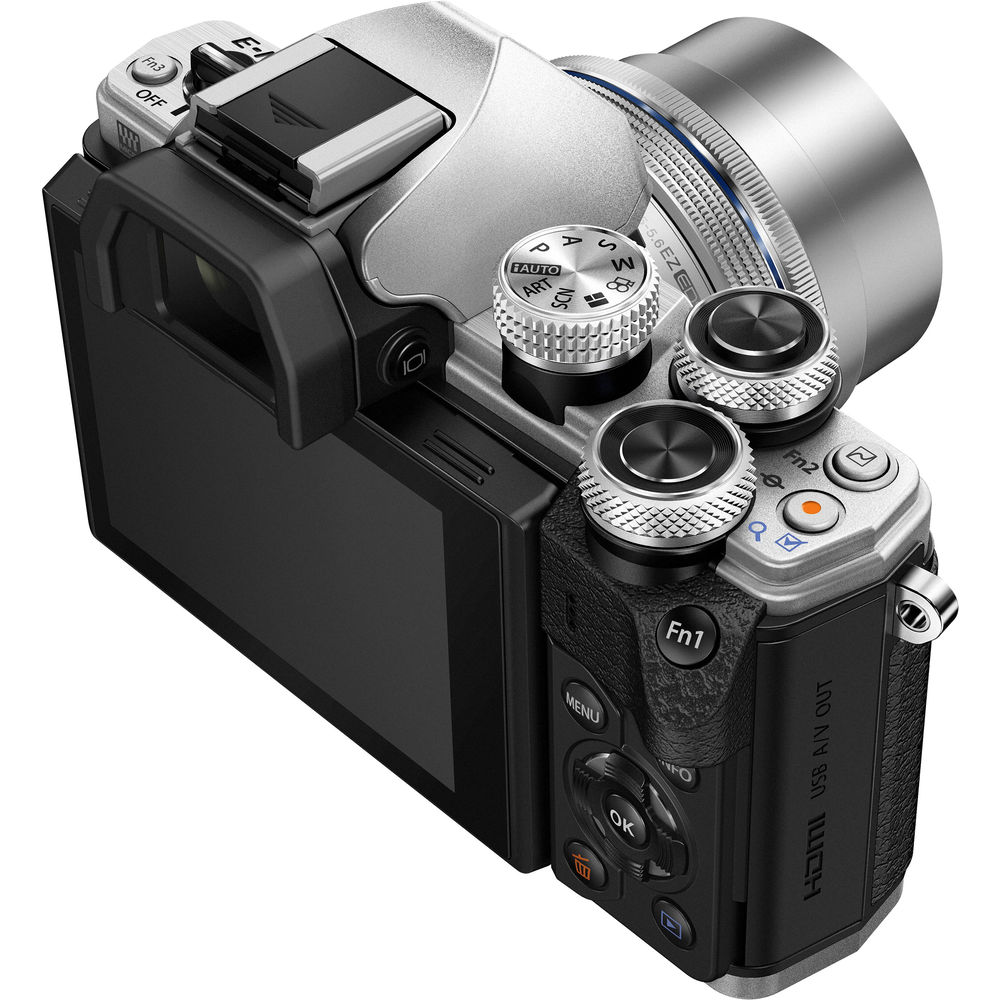 Olympus Om D E M10 Mark Ii Mirrorless Micro Four Thirds Digital Iii Kit 14 42 Ez Mzuiko 45mm F 18 Silver Camera With 42mm
